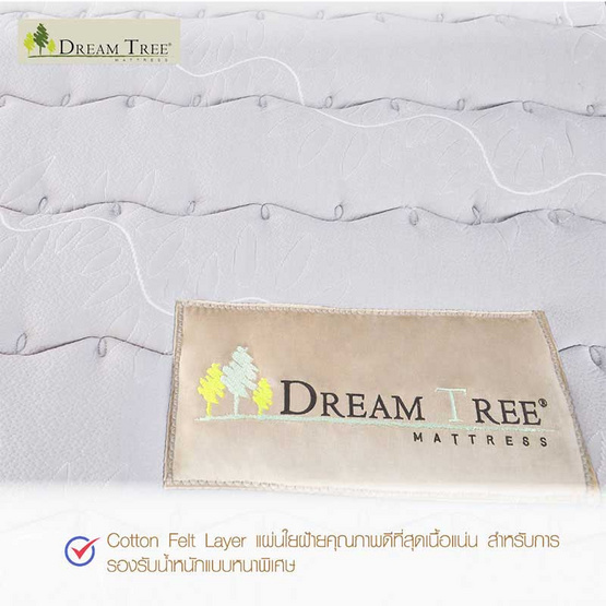 Satin Dream Tree ที่นอน รุ่น DAHLIA  Design ที่นอนไร้ขอบ