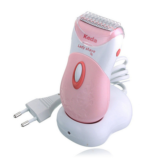 Babarah Shop เครื่องโกนขน Keda 187 Electric Wireless Shaver Razor