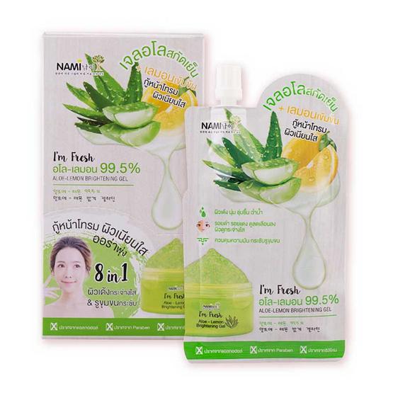 Nami I'm Fresh Aloe-Lemon Brightening Gel 30 g x 6
