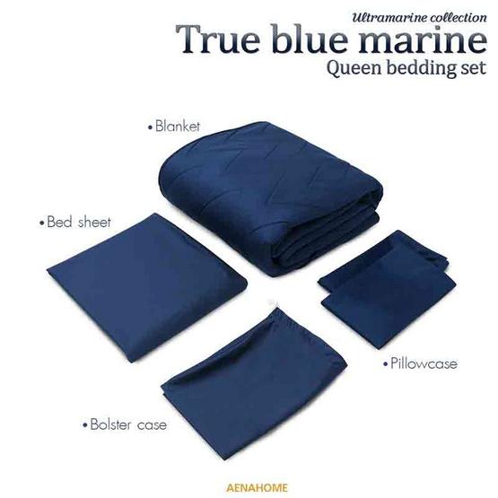 Aena ชุดเครื่องนอน True Blue Marine 5 ฟุต