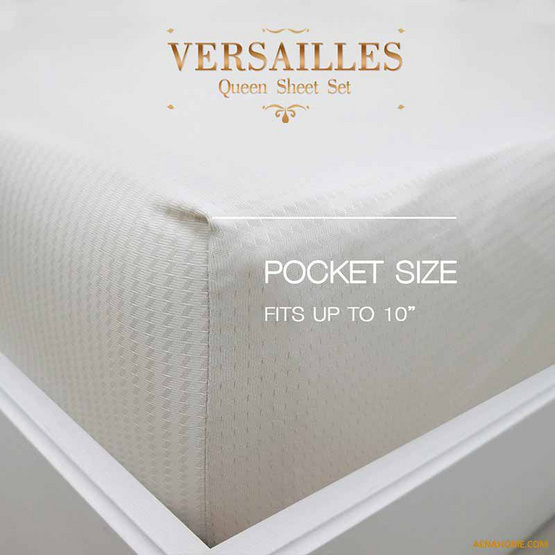 Aena ชุดผ้าปูที่นอน Versailles 5 ฟุต