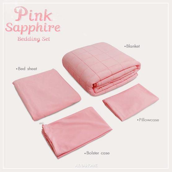 Aena ชุดเครื่องนอน Pink Sapphire 3.5 ฟุต