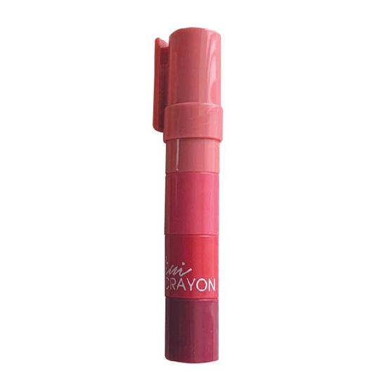 beWiLD ลิปสติก Mini Crayon #Peachy Pink 1.1 กรัม x4