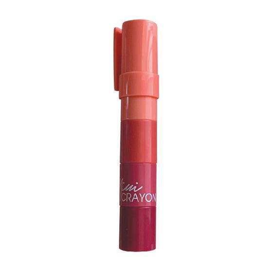 beWiLD ลิปสติก Mini Crayon #Dark Cherry 1.1 กรัม x4