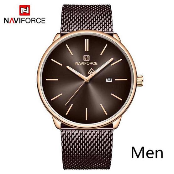 Naviforce นาฬิกา รุ่น NF3012M-RG BN