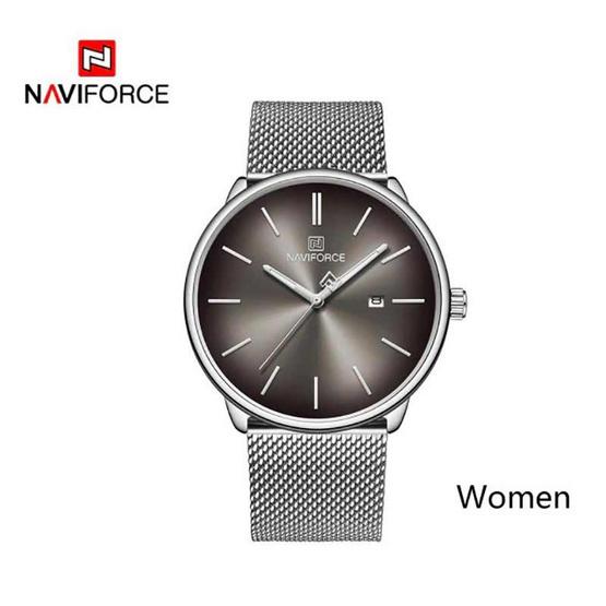 Naviforce นาฬิกา รุ่น NF3012L-BK SIL