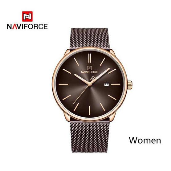 Naviforce นาฬิกา รุ่น NF3012L-RG BN