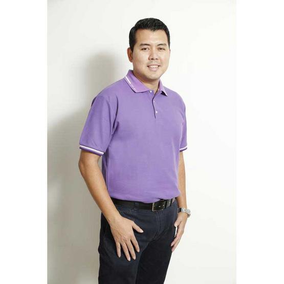 CP ALL เสื้อสีม่วง ผู้ชาย