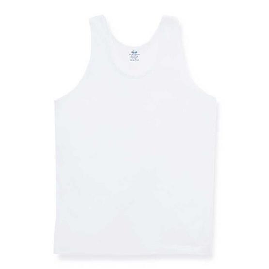 ตราห่านคู่ เสื้อกล้ามเด็กชาย JB001 สีขาว
