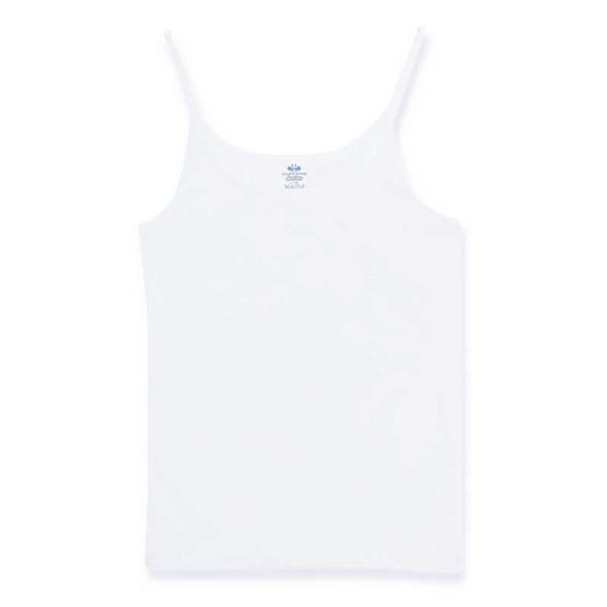 ตราห่านคู่ เสื้อสายเดี่ยวเด็กหญิง JG002 สีขาว