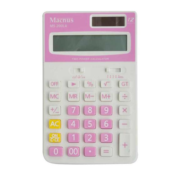 Macnus เครื่องคิดเลข MS-200LA Calculator 12Tax