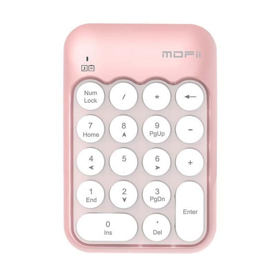 Mofii แป้นพิมพ์ตัวเลขไร้สาย 2.4 GHz รุ่น BISCUIT