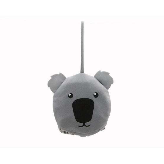 หมวกกันยูวี พับได้เป็นรูปหมี My hero Big Bear สีเทา