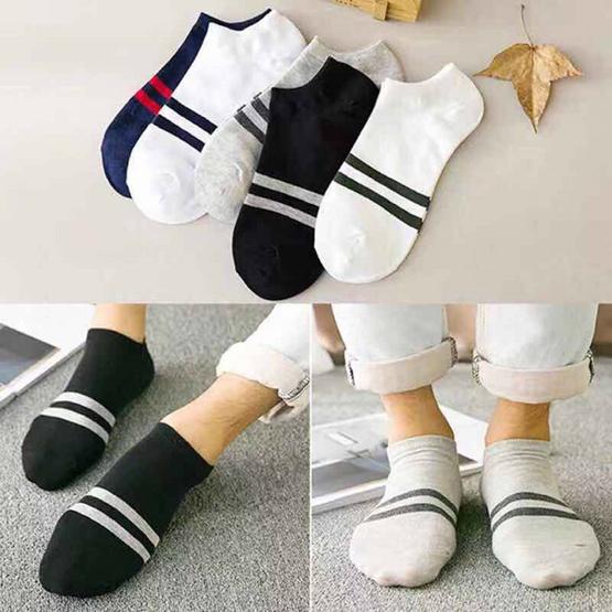 ถุงเท้า ถุงเท้าแฟชั่น 1 แพค มี 5 คู่