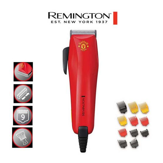 Remington ปัตตาเลี่ยน Colourcut Hair Clipper Manchester United Edition (HC-5038)