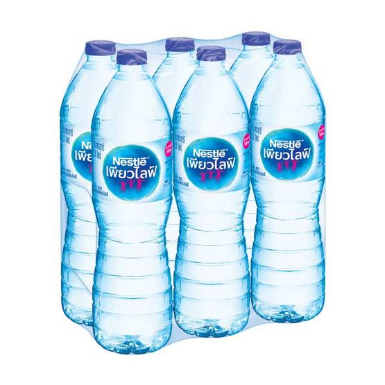 น้ำดื่มเพียวไลฟ์ 1500มล. แพ็ก6ขวด จำนวน2แพ็ก