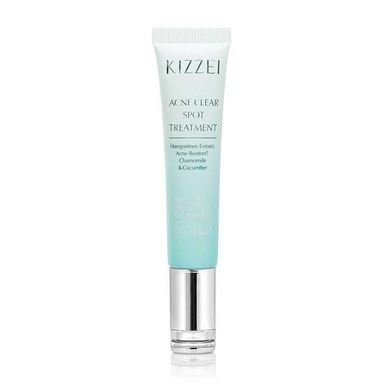 Kizzei เจลแต้มสิว Acne Clear Spot Treatment 12 มล.