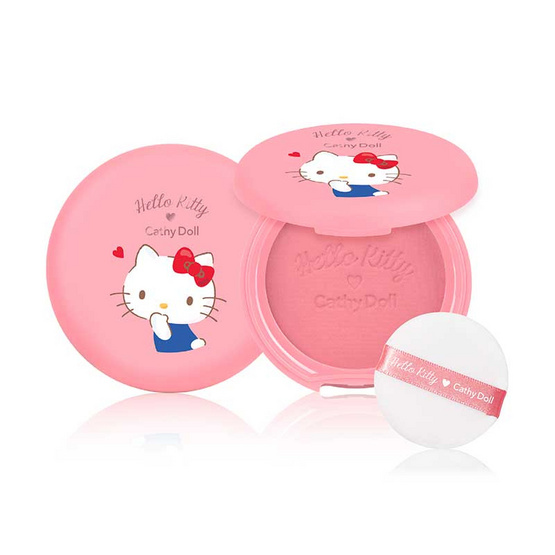 Cathy Doll บลัชออน Hello Kitty Cotton Shine Blusher 6.5 กรัม