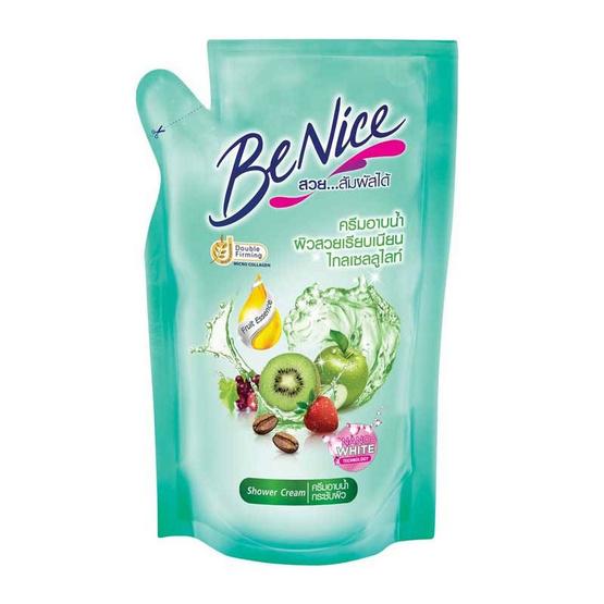 บีไนซ์ ครีมอาบน้ำ เขียว (ถุงเติม) 180 มล. (แพ็ก 3 ชิ้น)