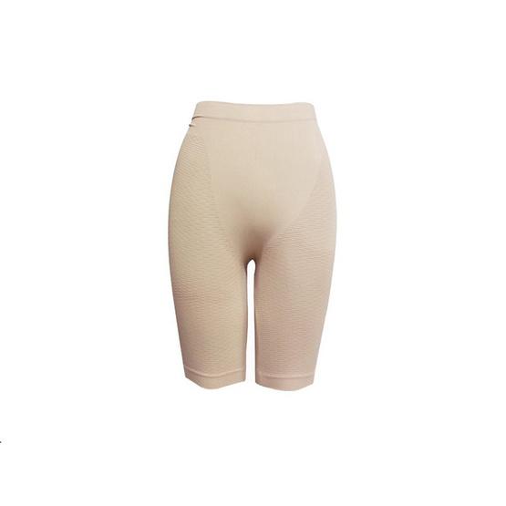 Swans กางเกงกระชับสัดส่วน (ขาสั้น) Basic Girdle ฟรีไซส์ สีเนื้อ