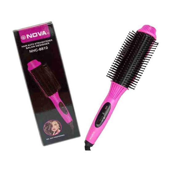 Babarah Shop หวีวอลุ่ม Nova Hair Auto Straightener Salon Designer รุ่น NHC-8810