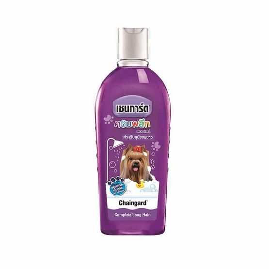 เชนการ์ดแชมพูสุนัข คอมพลีท สีม่วง(1แพ็ก3ชิ้น)