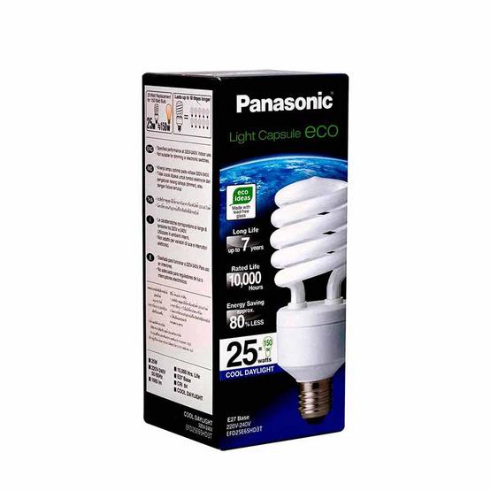 หลอดไฟสไปรัล 25W (แสงขาว) PANASONIC