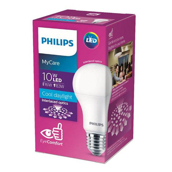 หลอดไฟฟิลิปส์LED 10W แสงสีขาว