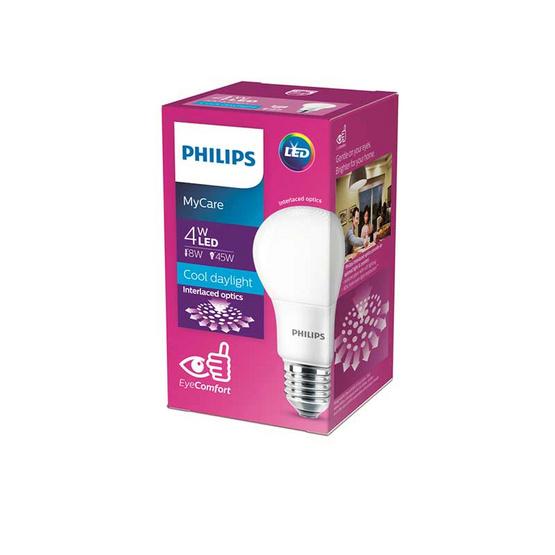หลอดไฟฟิลิปส์LED 4W แสงสีขาว