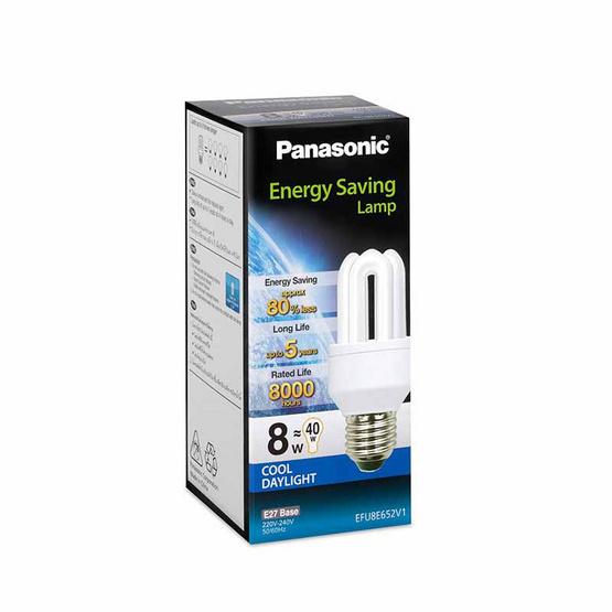 หลอดประหยัดไฟ 8W (แสงขาว) PANASONIC