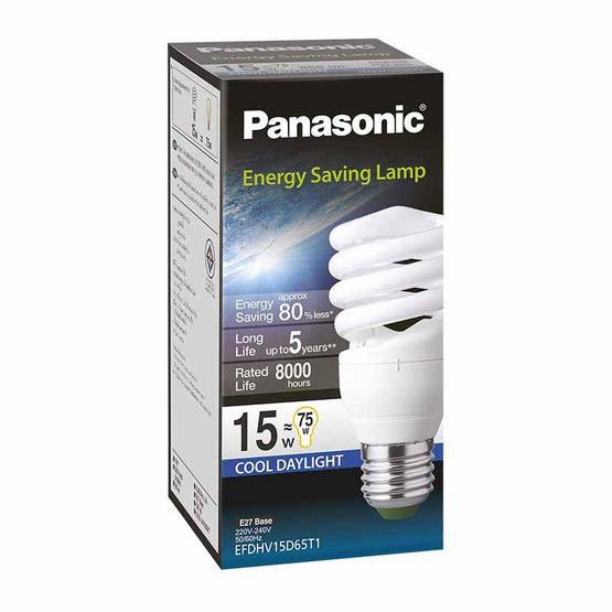 หลอดไฟสไปรัล 15W (แสงขาว) PANASONIC