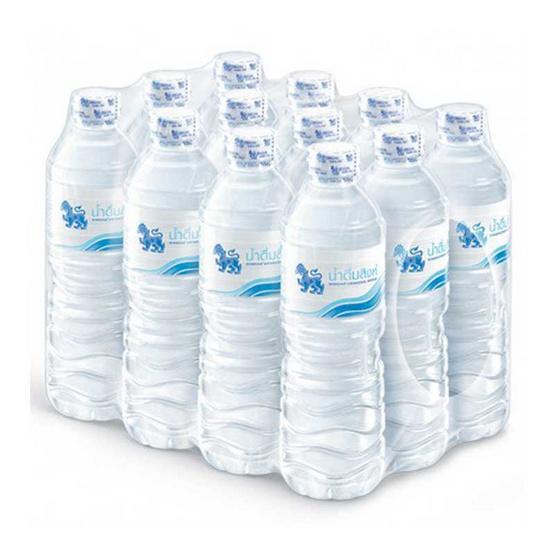 น้ำดื่มสิงห์ 600 มล. (แพ็ก 12 ขวด)