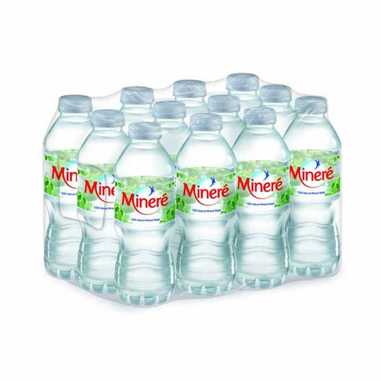 น้ำแร่ มิเนเร่ 330 มล. (แพ็ก 12 ขวด)