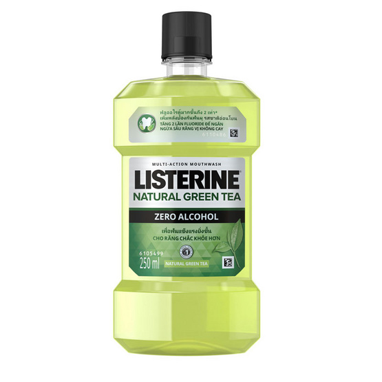 ลิสเตอรีน น้ำยาบ้วนปากกรีนที 250 มล.