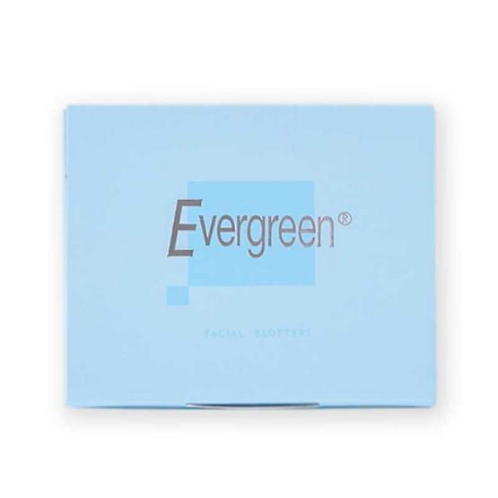 เอเวอร์กรีน กระดาษซับหน้ามัน บลู 50 แผ่น (แพ็ก 3 ชิ้น)