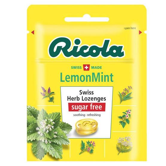 ริโคลา ลูกอมรสเลมอนมินต์ (ถุง) 17.5กรัม(แพ็ก15)