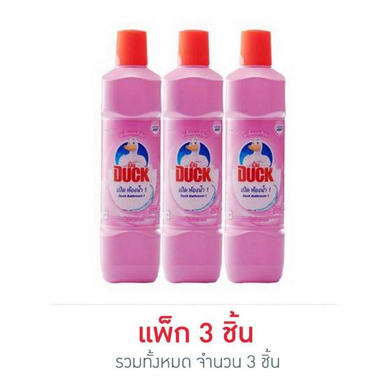 เป็ด พิ้งค์ฟลอรัล สีชมพู 450 มล. (แพ็ก 3 ชิ้น)