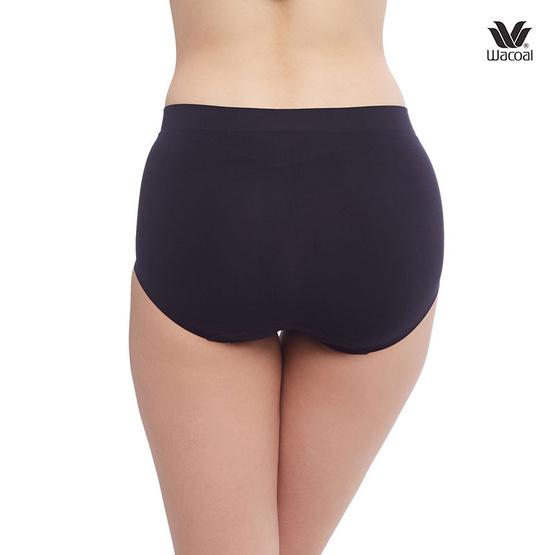 กางเกงในวาโก้ Oh My Nudes! รูปแบบครึ่งตัว รุ่น WU3906 สีดำ-สีดำ