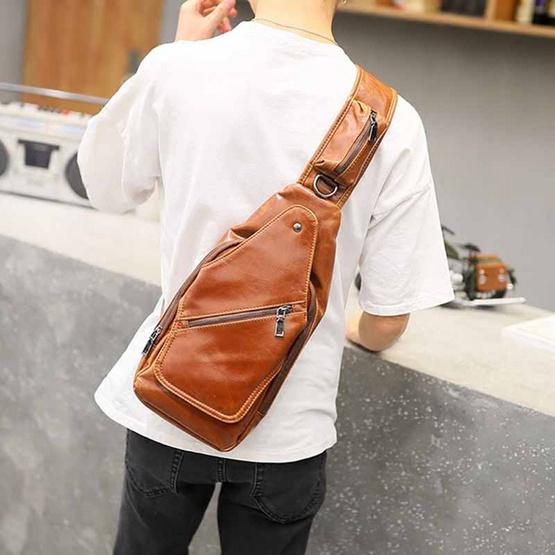 OSAKA รุ่น NE837 กระเป๋าสะพายไหล่ / คาดอก ผู้ชาย หนัง