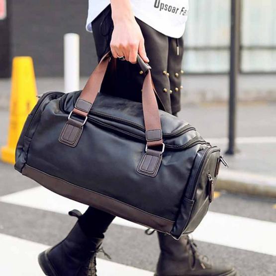 OSAKA กระเป๋าถือ หรือ สะพายไหล่ สำหรับสุภาพบุรุษ หนัง PU รุ่น NE572