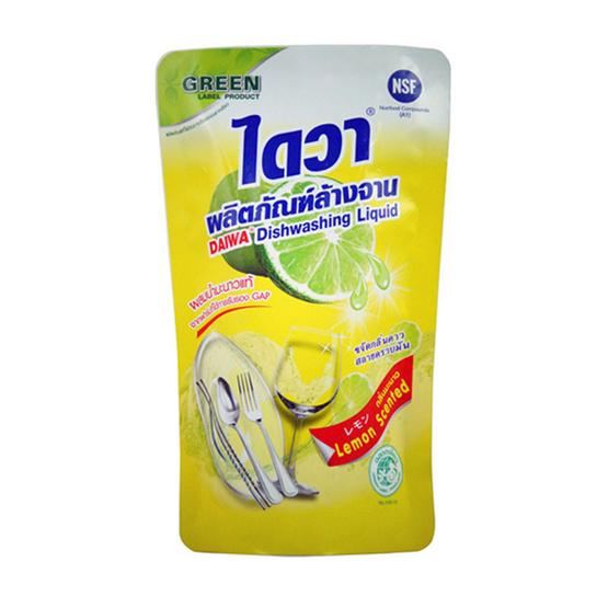 ไดวา น้ำยาล้างจาน ถุงเติม 500 มล. (แพ็ก 3 ชิ้น)