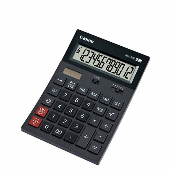 Canon Semi Desktop Calculator รุ่น AS-1200