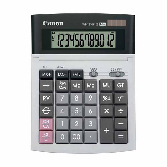 Canon Desktop Calculator รุ่น WS-1210Hi III