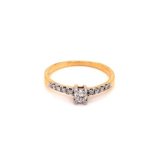 Madam classic แหวนเพชรแท้ [MCDRG4000YG48]