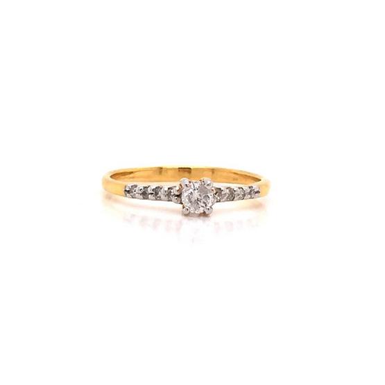 Madam classic แหวนเพชร [MCDRG3482YG54]