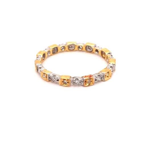 Madam classic แหวนเพชรล้อม [MCDRG3592YG55]