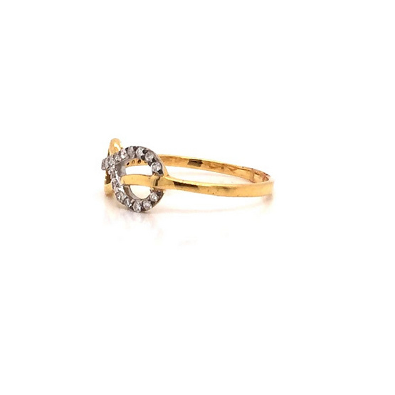Madam classic แหวนเพชร [MCDRG3501YG54]