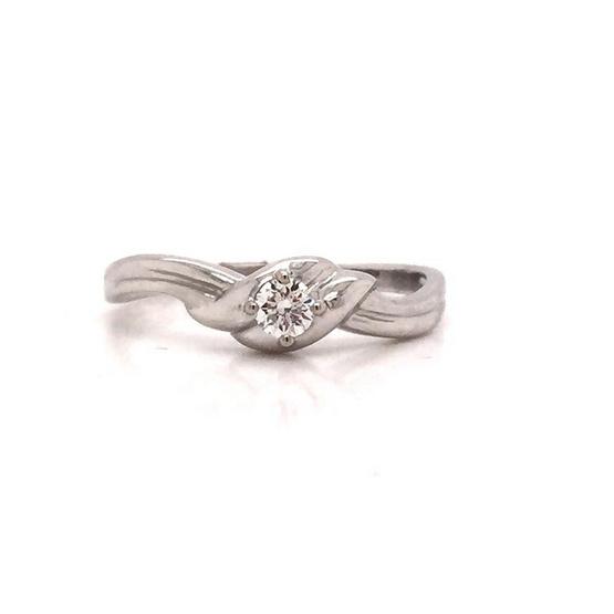 Madam classic แหวนทองขาว [MCDRG4178WG53]