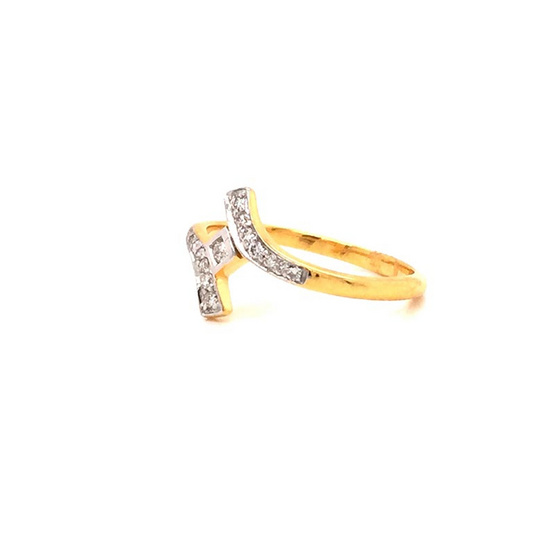 Madam classic แหวนเพชร [MCDRG3706YG57]