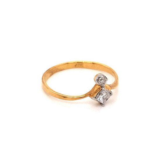 Madam classic แหวนเพชร [MCDRG4084YG52]